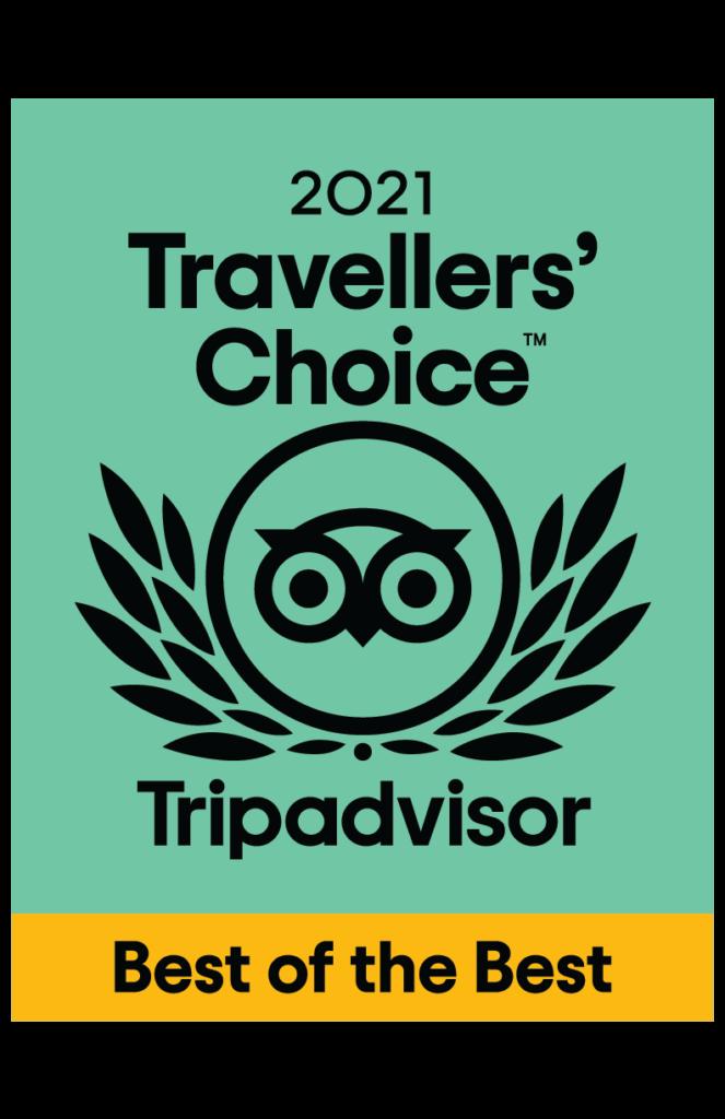 trip advisor 2021 travellers choice awards